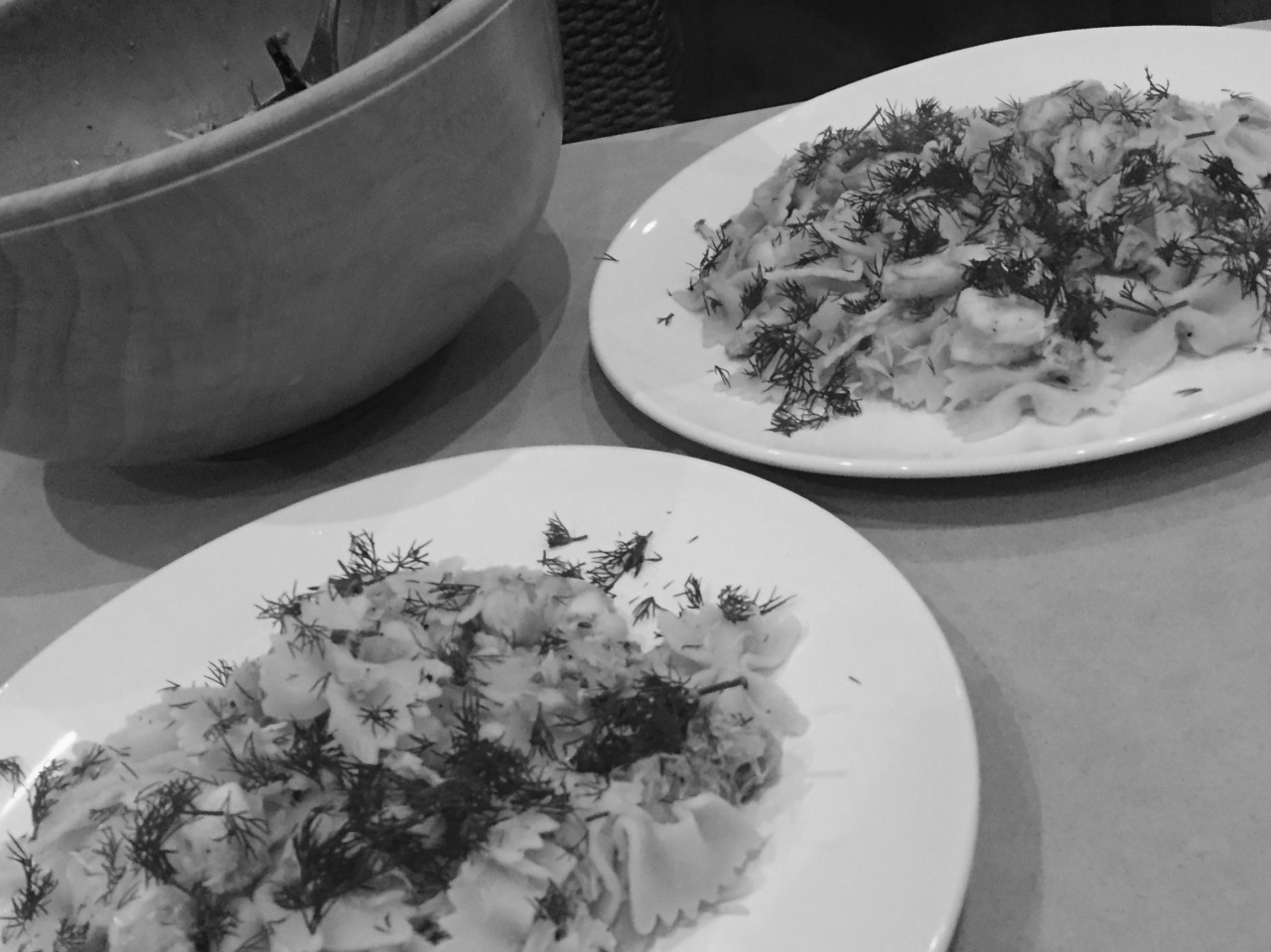 Butterfly Pasta with Spider Crab and Small Prawns